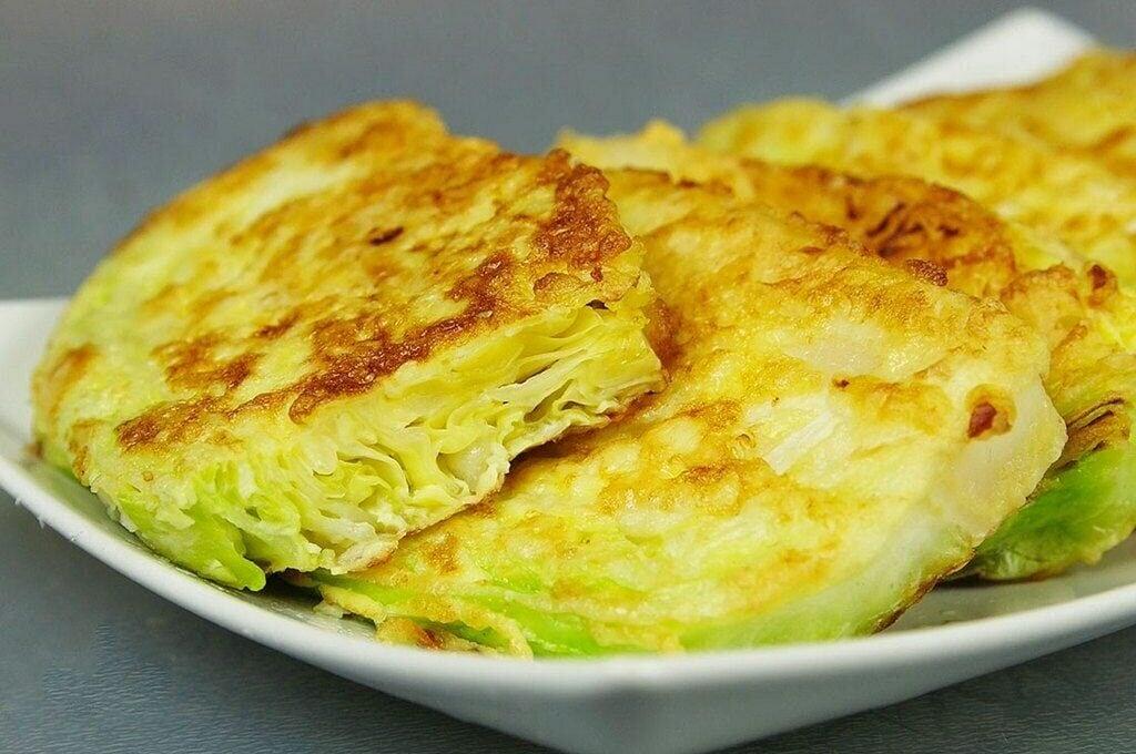 Green Cabbage Schnitzel