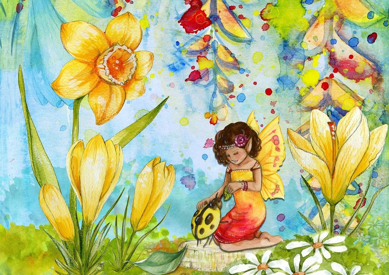 fairy, fantasy, art